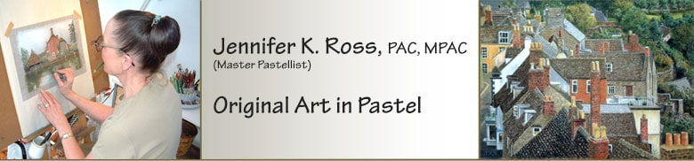 Jennifer Ross: Original Art in Pastel, Port Perry, Scugog Studio Tour